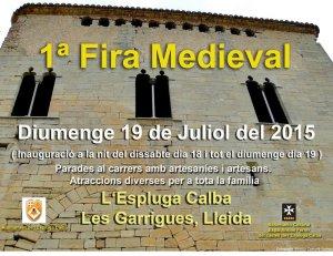 cartell fira medieval 1